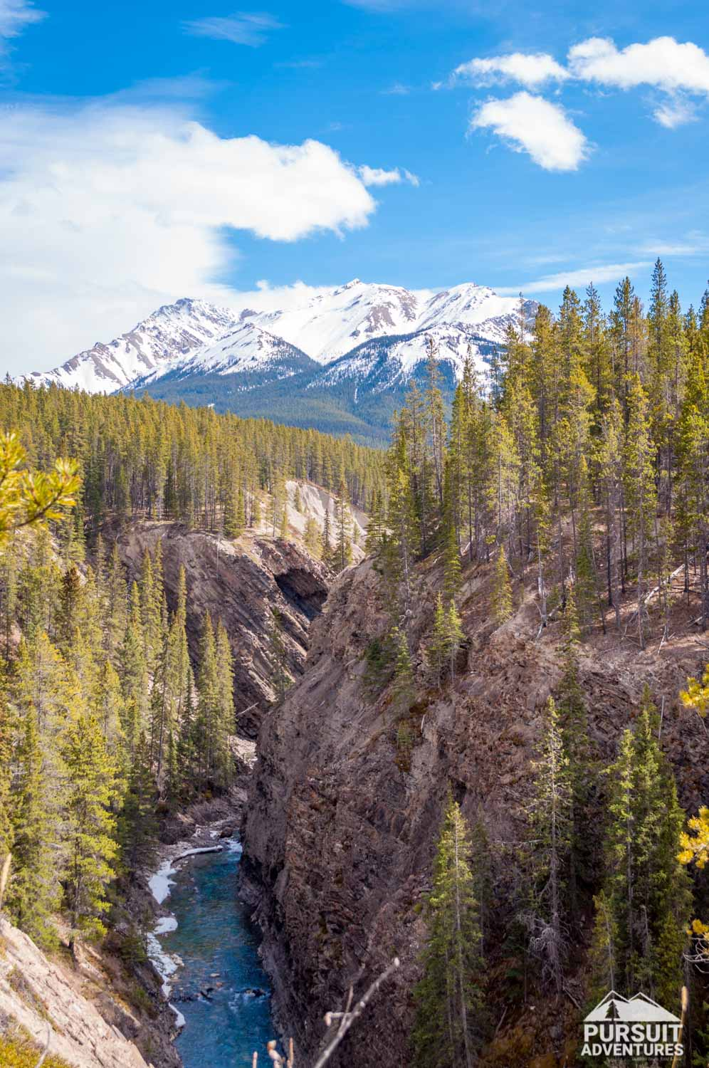 Siffleur River - Third Falls and Wilderness Area Access