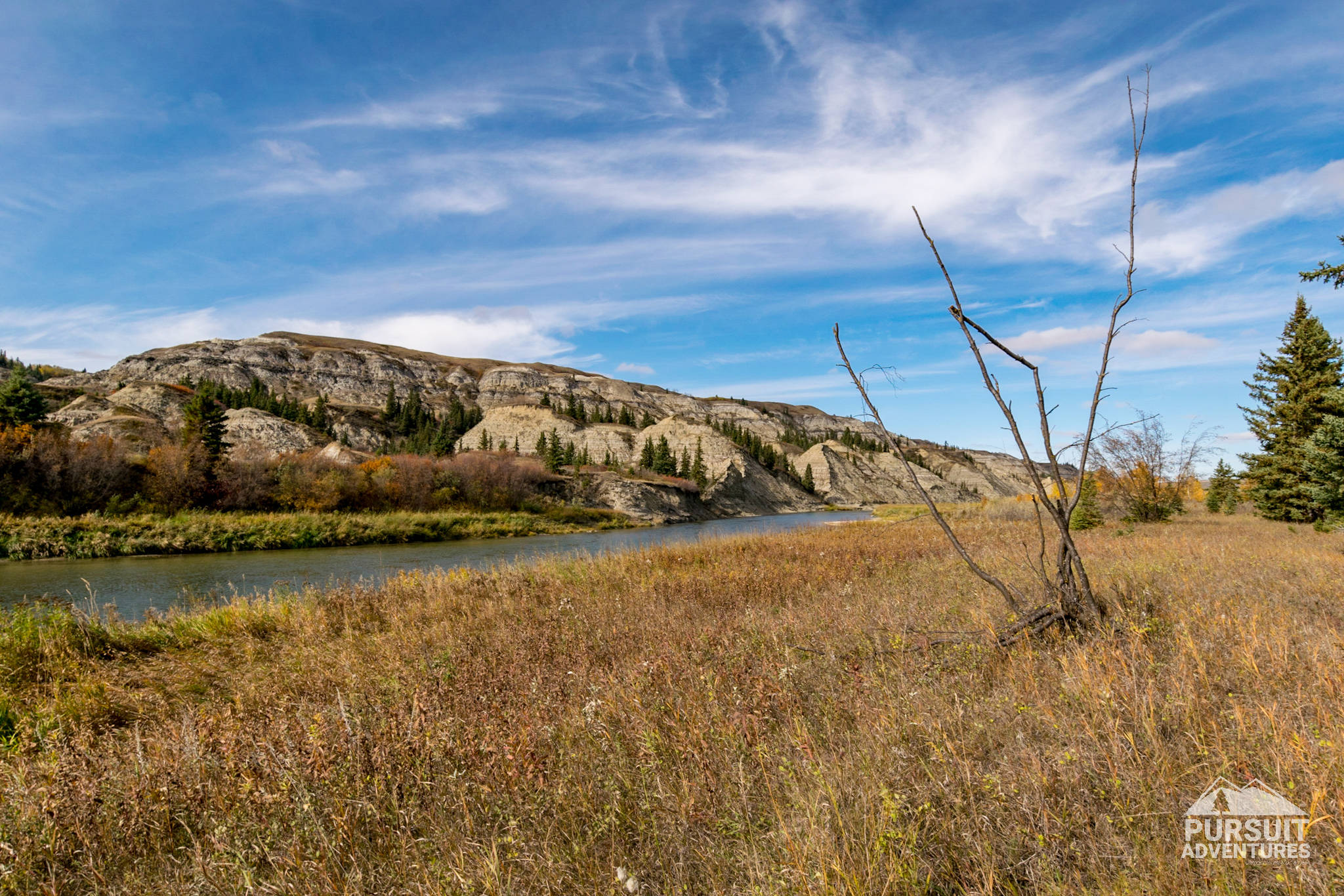 Red Deer River at Dry Island Buffalo Jump PP